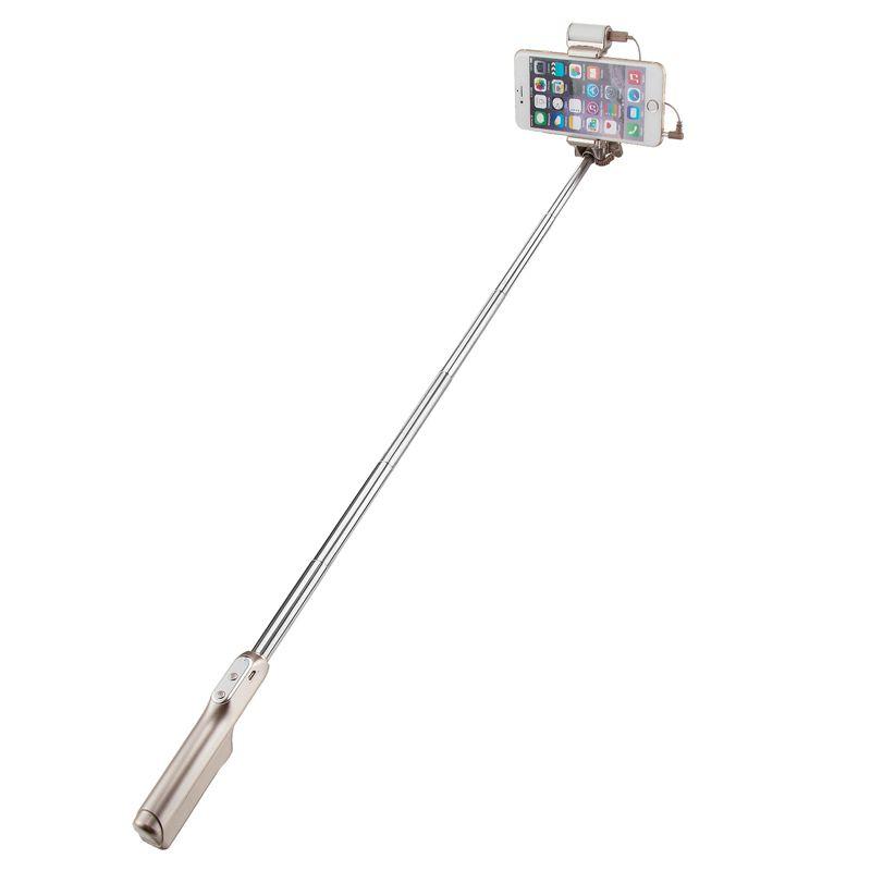 Dernières Petit Or bluetooth Lumière Selfie Bâton 870mm Universel Extensible Fold Pour Android, Iphone4, Iphone5/5S, Iphone6/6 plus Vente