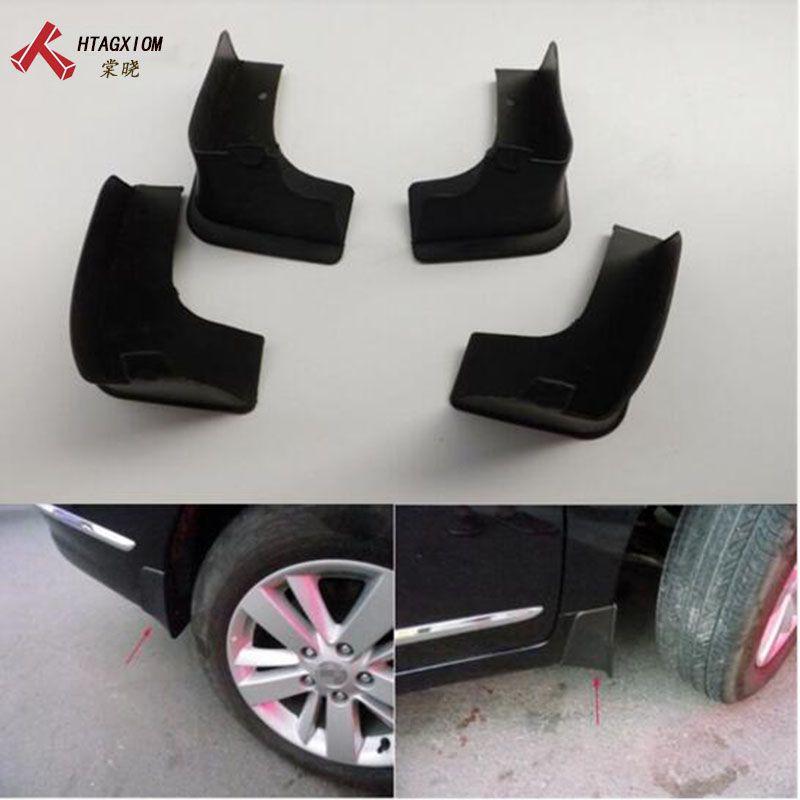 for Nissan Teana J32 2009-2013 Automobile Mud Flaps Guard Mudguard Fenders Splash Flaps Car Styling Automobile Accessories 4 Pcs