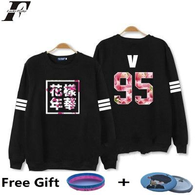 LUCKYFRIDAYF kpop Bangtan Boys Kpop BTS Women Hoodies Sweatshirts Letter Printed in J-HOPE 94 and SUGA 93 Women xxxl Hoodies