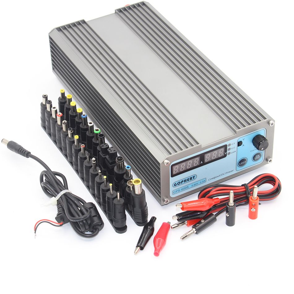 CPS-6005 Mini Digital Adjustable Switching DC Power Supply OVP/OCP/OTP low power 60V 5A 6005