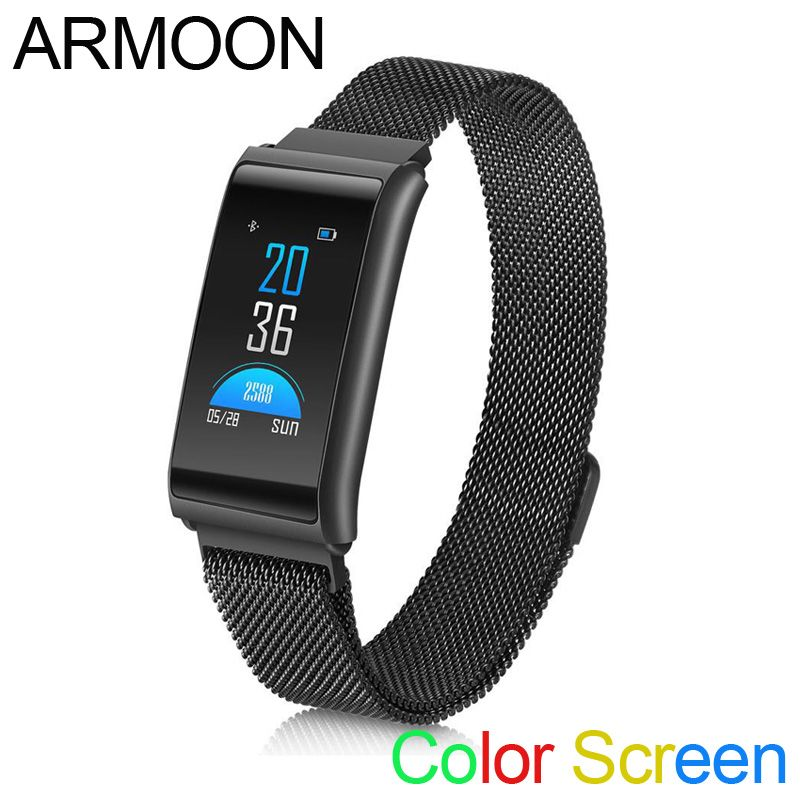 Smart Band R02 Sleep Monitor Fitness Tracker Heart Rate Smart Bracelet Blood Pressure Smartband Color Screen Band VS mi band 2 3