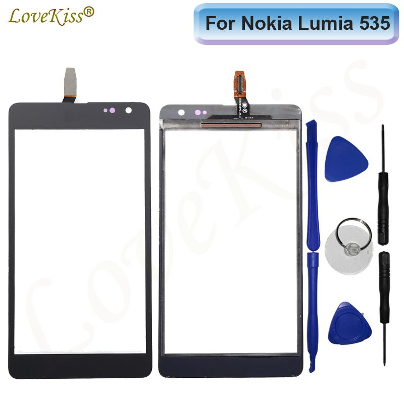 For Nokia Microsoft Lumia 535 N535 2S 2C CT2C1607 CT2S1973 Touch Screen Sensor LCD Display Digitizer Panel Glass TP Replacement