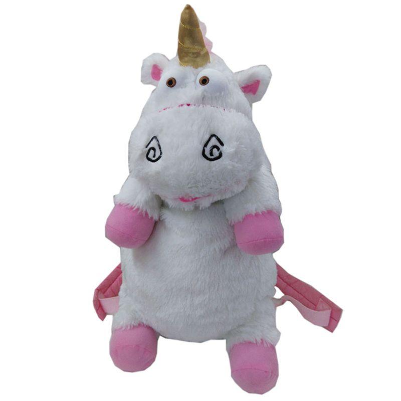 50 cm méprisable moi licorne sac en peluche licornes jouet sac à dos jouets pour filles enfants cadeau d'anniversaire mignon sacs à dos BY0059