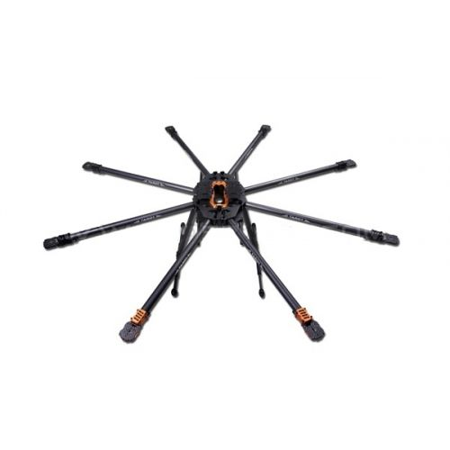 Tarot T18 Pure 3K carbon folding type OCTA copter main frame kit FPV Plant protection TL18T00