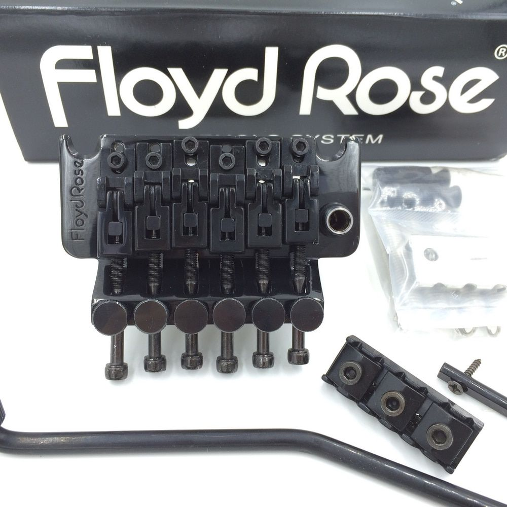 Original Floyd Rose 3000 Series Electric Guitar Locking Tremolo System Bridge FRT03000 Black (without packaging & accessories)