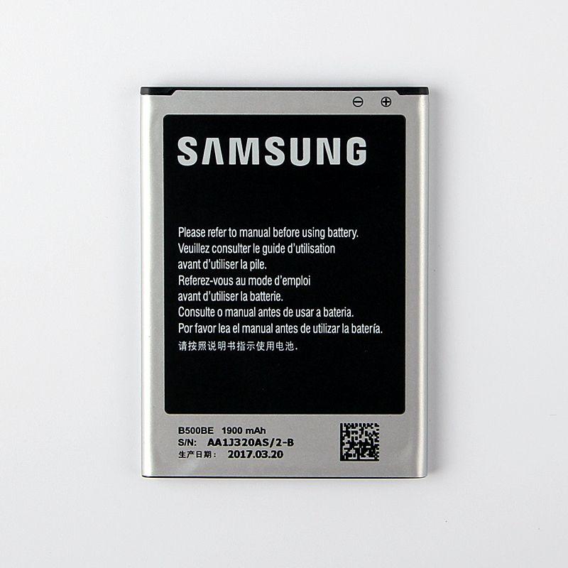 100% D'origine Remplacement Batterie B500AE Pour Samsung GALAXY S4 Mini I9190 I9192 I9195 I9198 B500AE B500BE Téléphone Batterie 1900 mAh