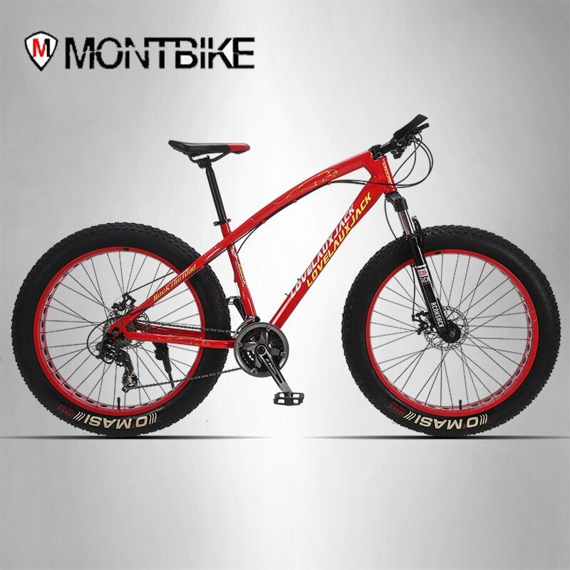LAUXJACK mountain bike steel frame 24 speed Shimano disc brakes 26