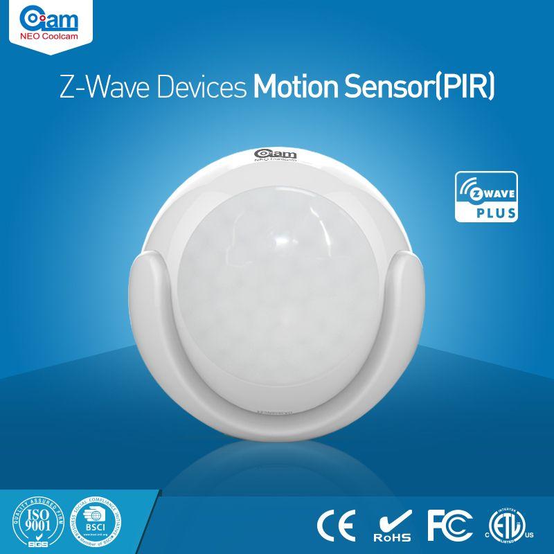 NEO Coolcam NAS-PD01Z Domótica Z-wave Más PIR Motion Sensor Compatible con z-wave serie 300 y 500 series de Automatización del Hogar