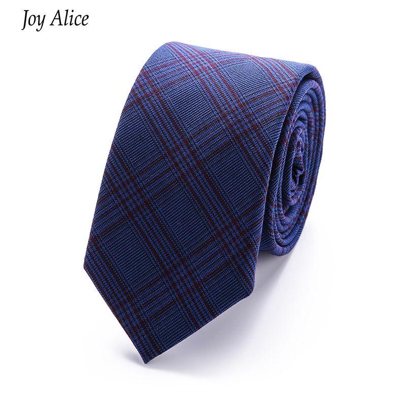 Haut Grade Marque 2018 nouveau coton 6 cm Cravate Maigre Cravate cravates Pour Hommes Costume De Mariage Slim Cravate Classique hommes de Cravate de baisse gratuite
