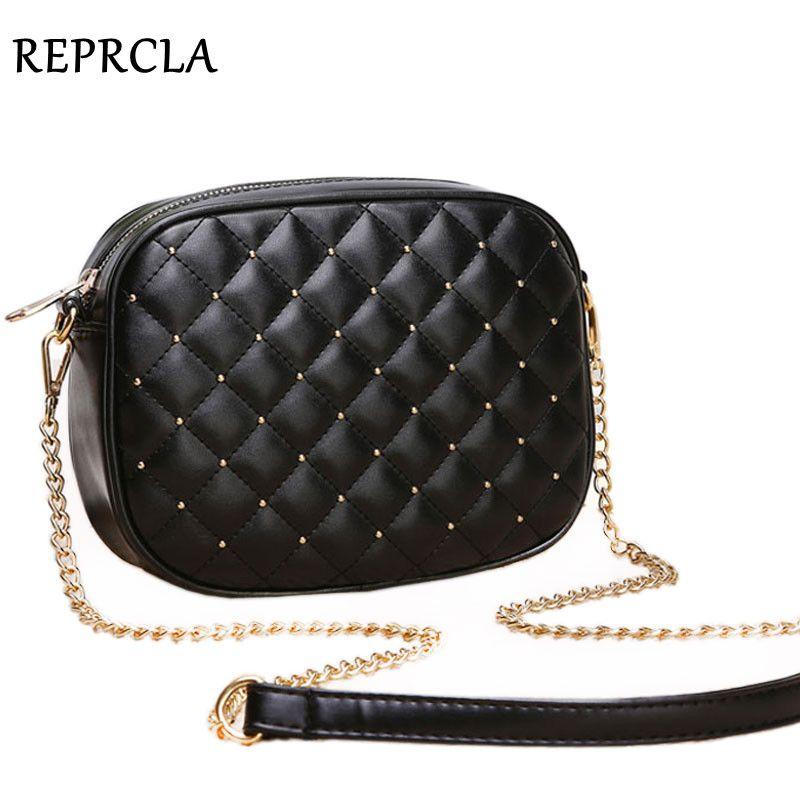 Hot Sale Women Messenger Bags Brand Designer Shoulder Bags Rivet Chain Strap Crossbody Bags For Women Bolas Feminina