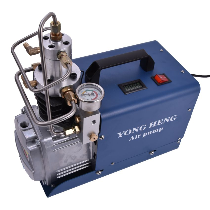 220V /110V High Pressure 30MPa Electric Mini Pump Air Compressor On the air for air rifle PCP rifle scuba inflat 1.8KW