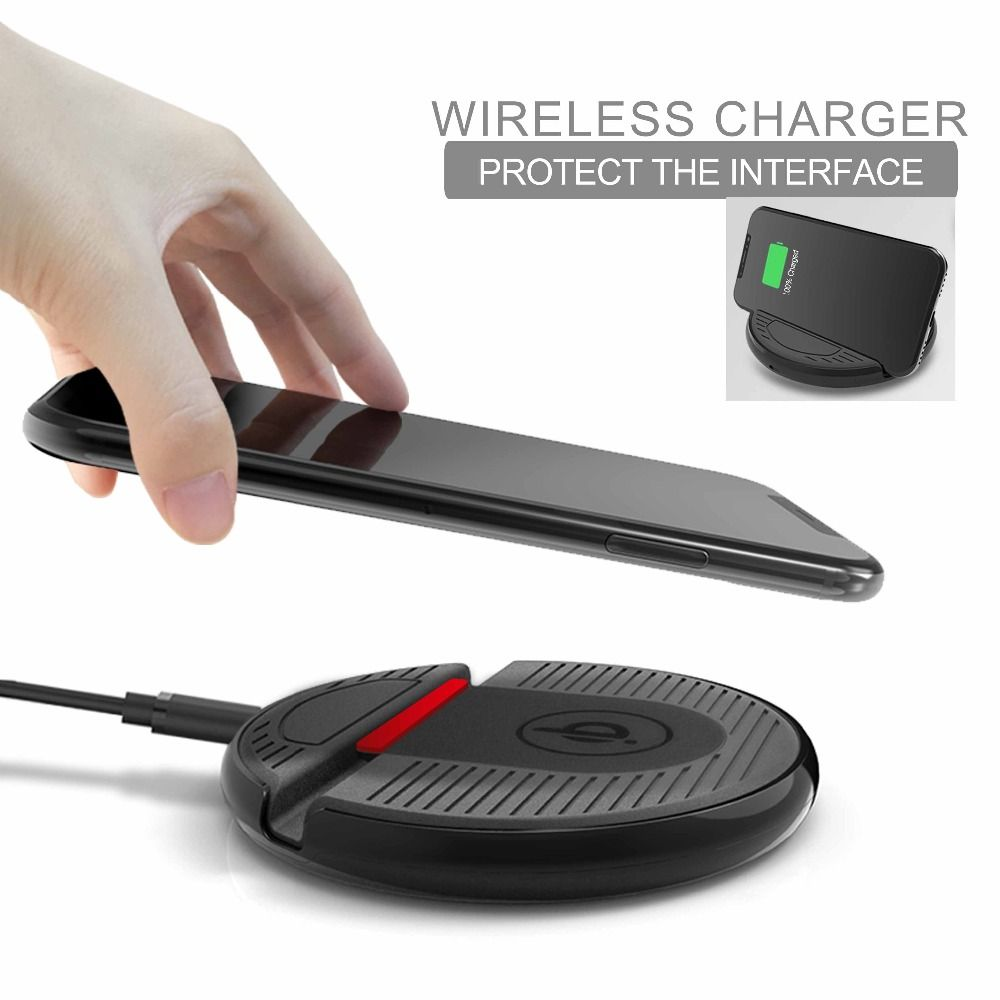 New wireless charging stand for mobile phone car wireless charger fast cell phone holder for iphone8 iphoneX Samsung S6/7/8