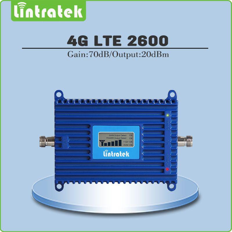 4G LTE Signalverstärker Verstärkung 70dB 4G LTE 2600 Mhz Mobile Signal Booster 2600 lte handy signalverstärker mit lcd display