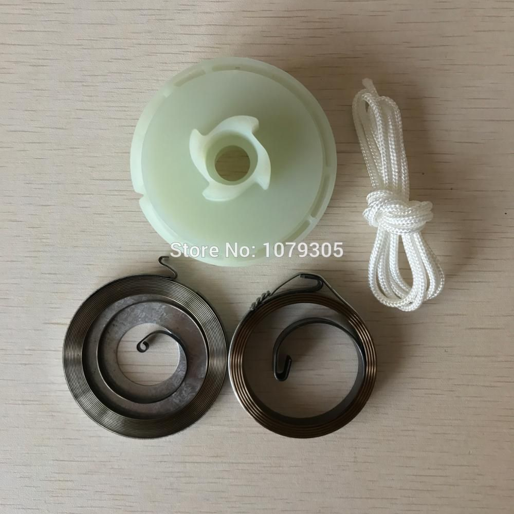 4500 5200 5800 Chainsaw Easy Starter Pulley with 2 Springs