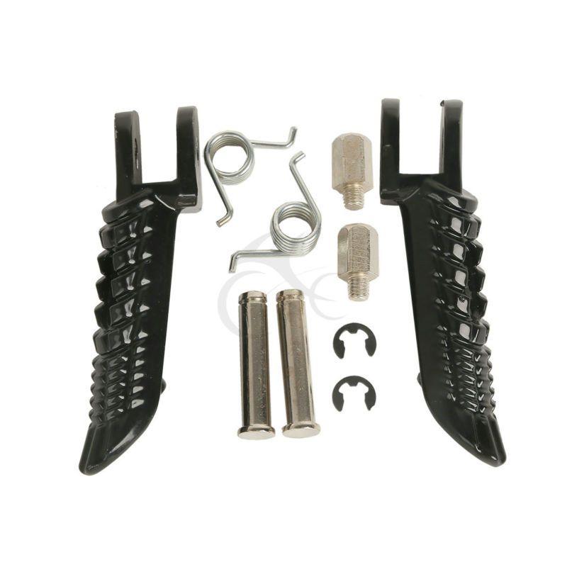 Motorcycle Accessories Front Foot Pegs Footrest Pedals For Suzuki GSXR600 GSXR750 GSXR1000 2001-2014 02 03 04