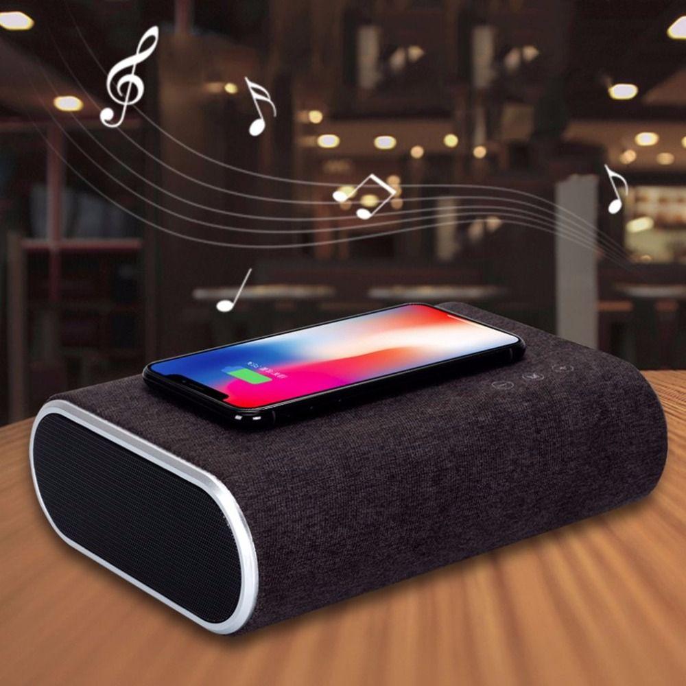 F176 Smart Chargeur Sans Fil Bluetooth Haut-Parleur Stéréo Lecteur de Musique Portable Voyage Rapide Adaptateur De Charge Pour Mobile Téléphones