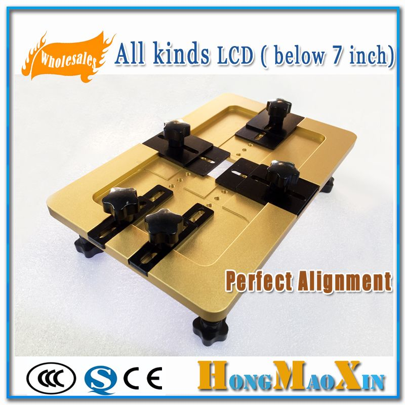 Mobile Phone Universal Alignment Mould For LCD Front Outer Glass Positioning For iphone For Samsung For Sony Repair Precise Mold