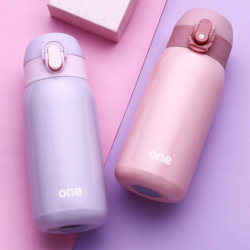320ml Colorful Thermo Mug Vacuum Cup 304 Stainless Steel thermos Bottle baby <font><b>Thermal</b></font> Bottle for water Insulated Child Thermo Cup