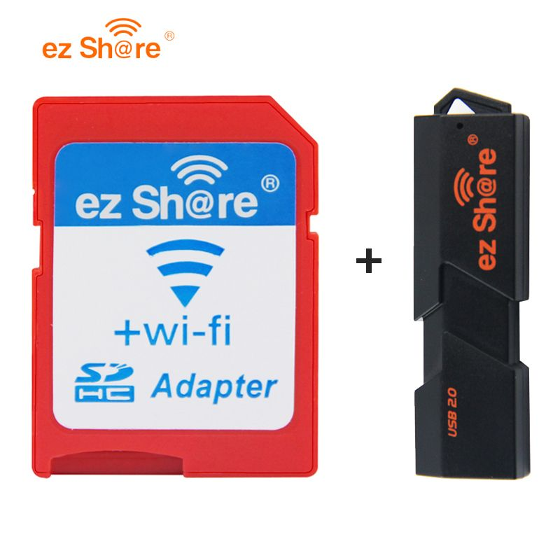 2017 Special Offer Direct Selling ez share Wifi Adapter Wifi Sd Card Wifi card reader can use 8g 16g 32g without memory