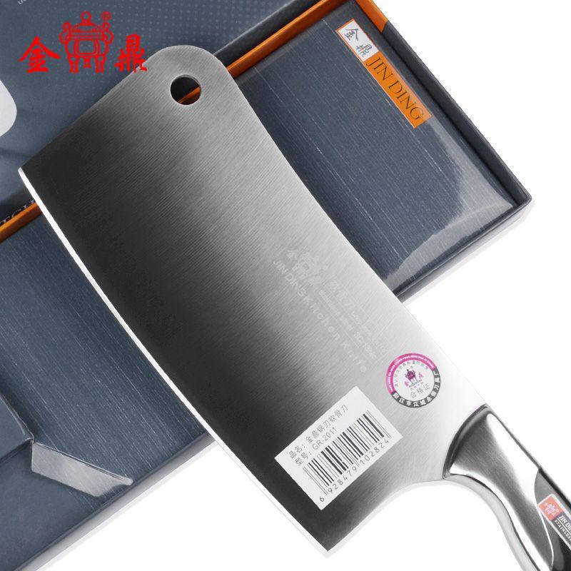 YAMY & CK acier inoxydable couteaux de cuisine et accessoires outils de cuisson machette tranchage/hachage fruits cadeau chef hacher os couteau