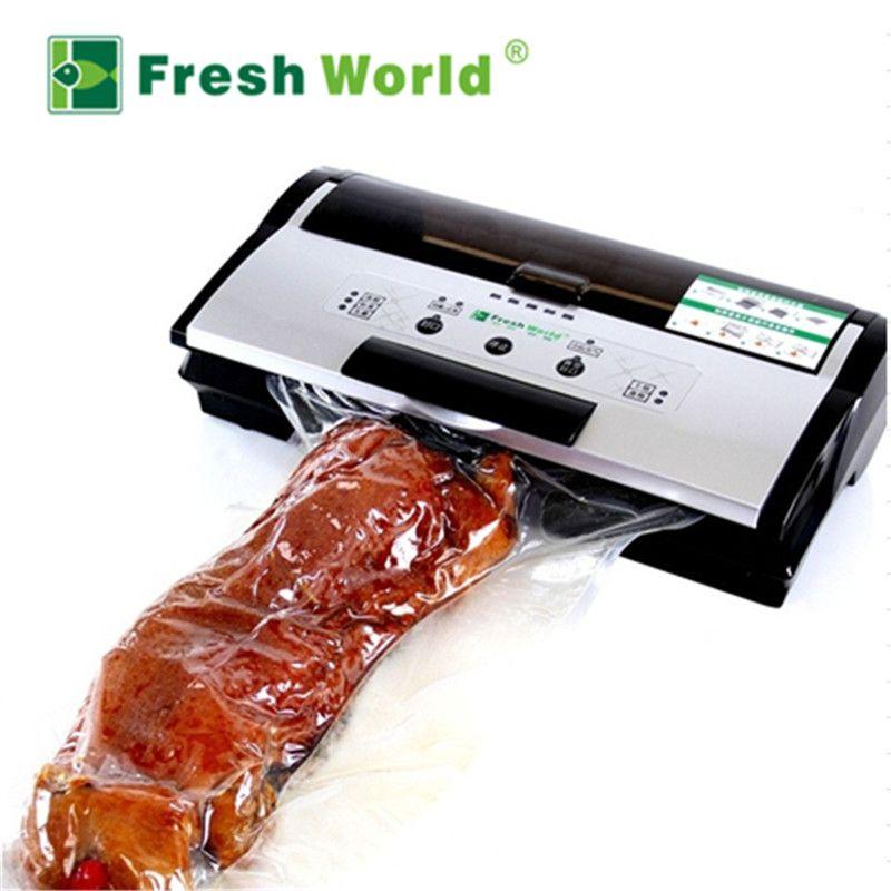 Коммерческих Best вакуум Еда машину уплотнителя непрерывный надувные автоматический Электрический Еда упаковка вакуумный упаковщик