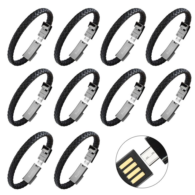 10 pcs usb cable data line wire charger adapter charging for iphone 6 X xiaomi mi 8 huawei mate 10 smartphone quick 3.0