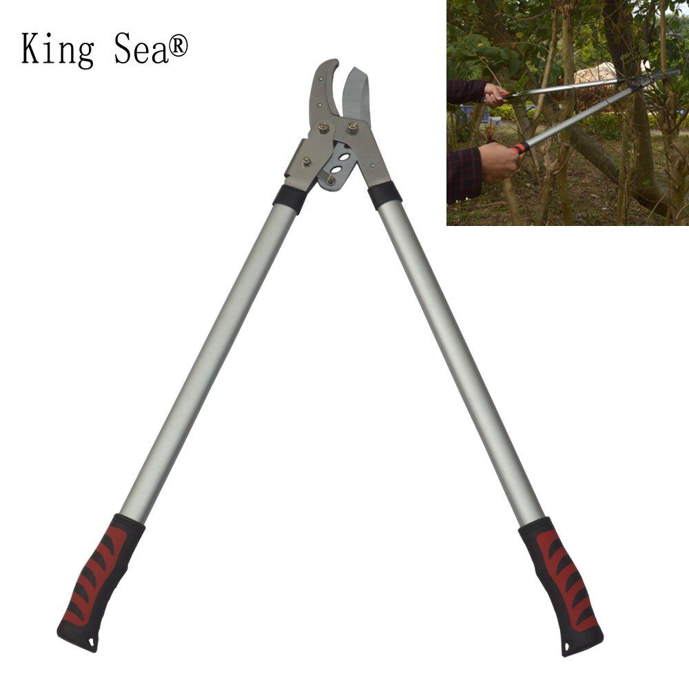 New Loppers Rough pruning high branches pruning shears Branches of fruit trees green garden scissors stretch shears garden tools