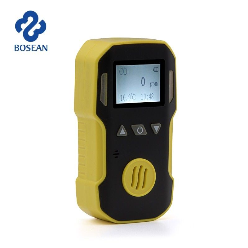NO2 Gas Detector Nitrogen Dioxide Gas Analyzer with Alarm System Gas Leak Detector Portable NO2 Industrial Gas Monitor Sensor