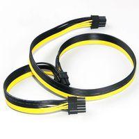 Модульные кабели питания PSU PCI e Molex 6pin до 2 PCI-e 8 pin 6 + 2pin PCI Express Внутренний разветвитель питания ленточный кабель