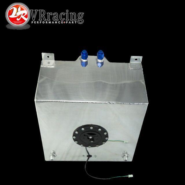 VR RACING - 40L Aluminium Fuel Surge tank with Cap  Fuel cell 40L with sensor foam inside VR-TK40