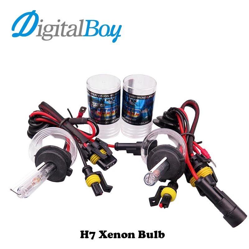 Digitalboy Car HID Xenon Bulbs 12V 55W Car Headlight Fog Lamp for H1 H3 H4-2 H7 H8/H9/H11 9005 9006 880 881 Car Lighting 6000k