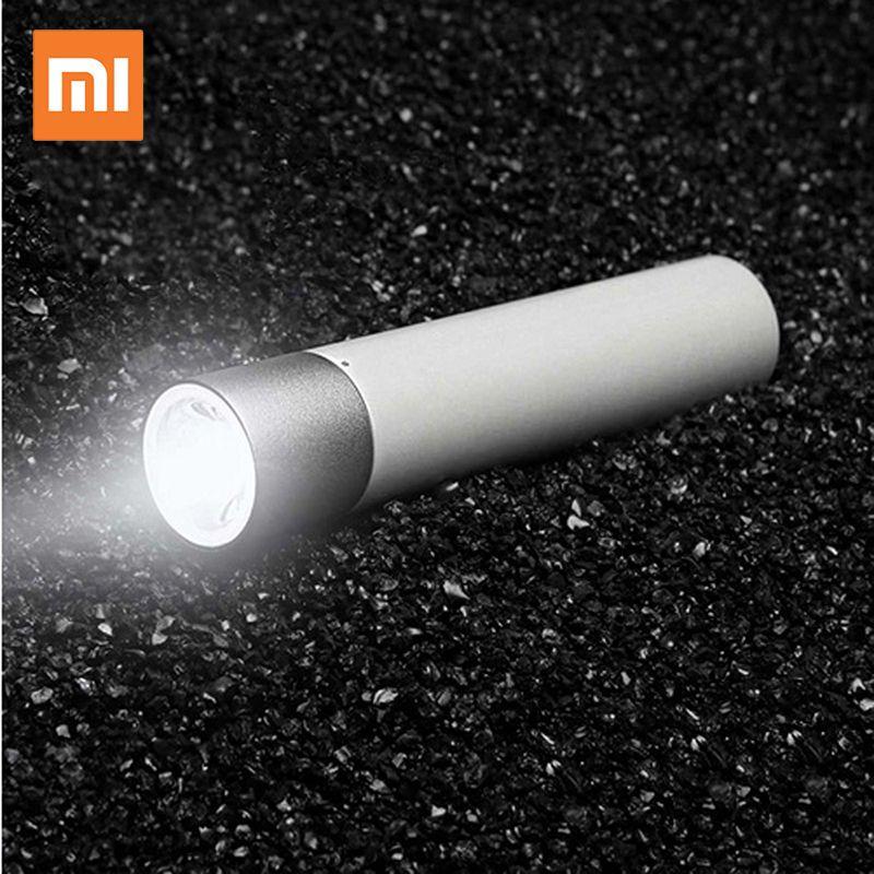 Xiaomi Tragbare Taschenlampe 11 Einstellbar Leuchtdichte Modi Mit Drehbare Lampe Kopf 3350 mah Lithium-Batterie USB Lade Port