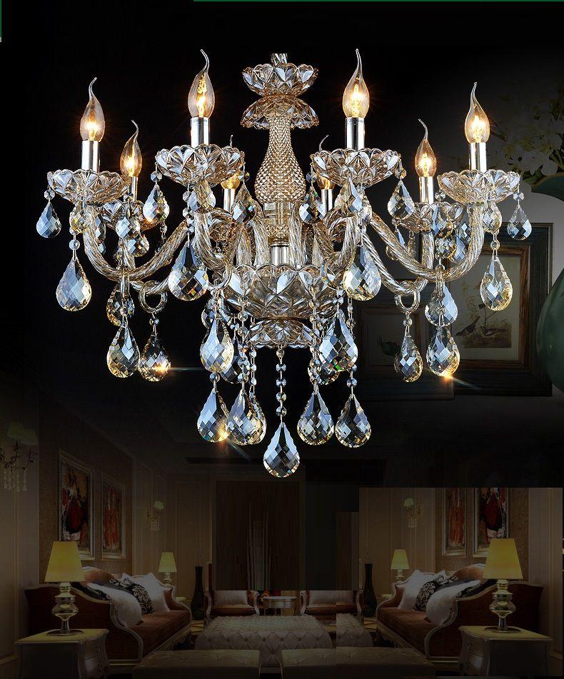 KOSTENLOSER VERSAND kronleuchter kristall schlafzimmer wohnzimmer kronleuchter licht kristall beleuchtung kronleuchter Luxus Kronleuchter Beleuchtung