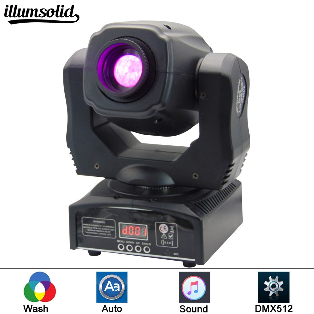 (1 pieces/lot) moving 60w LED Moving Head gobo Light led dmx 512 control mini dj diso moving heads 60w