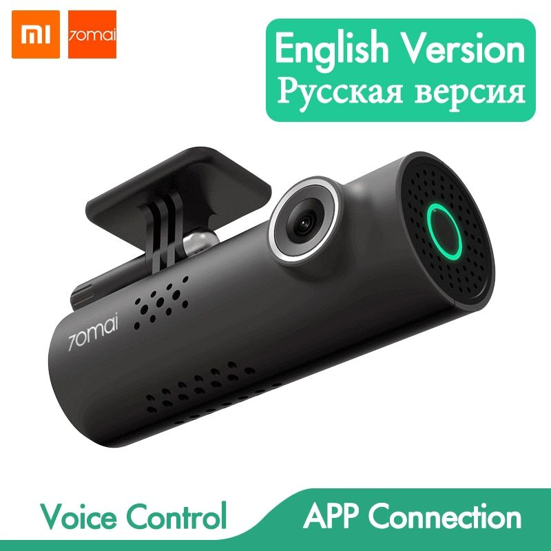 Voice Control Xiaomi 70mai Car DVR Camera Full HD 1080P Dash Cam Car Camera Wifi Night Vision 130 Wide Angle Driving Recorder