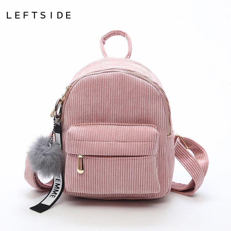 LEFTSIDE Women 2018 Cute Backpack For Teenagers Children Mini Back Pack Kawaii Girls Kids Small Backpacks Feminine Packbags