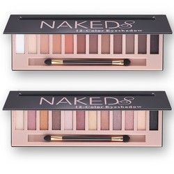 2017 Branded Cosmetic Makeup Glitter Shimmer Matte Eye Shadow Palette Make Up 12 Colors Eyeshadow Palette Nudes Matte