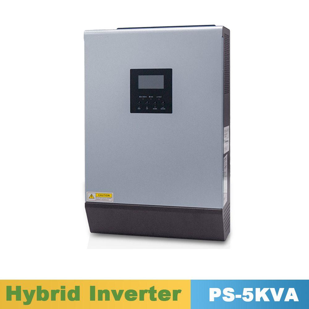 5000VA 4000 watt Reine Sinus Welle Inverter Hybrid Inverter 48VDC Eingang 220VAC Ausgang mit PWM Solar Ladegerät Controller 50A
