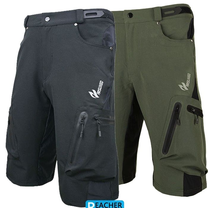 Hommes cyclisme vélo vélo débarras descente shorts de montagne porter des vêtements de sport court vélo en plein air pantalons de course Lycra