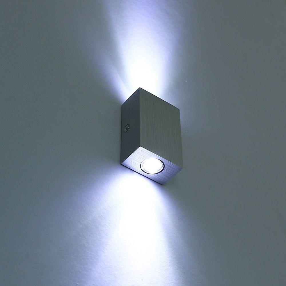 Modern 6w(2*3w) LED Wall Lamp Sconce Night Light Fixture Modern Design Up/Down AC85-265V Indoor Light Energy Saving Fixture Lamp