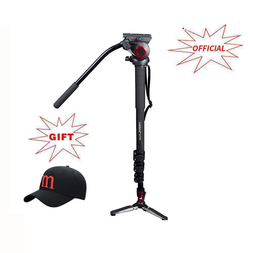 MTT705B Portable Carbon Fiber Tripod & Monopod for ProfessionalCamera Camcorder/Video/DSLR Stand,Half Price of Manfrotto