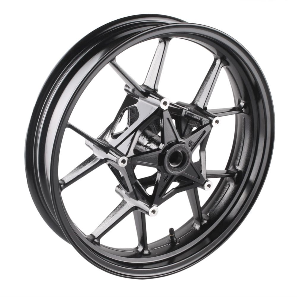 GZYF For BMW S1000RR Front Wheel Rims 2009 2010 2011 2012 2013 2014 2015 & S1000R 14 15 Aluminum Alloy Motorcycle Parts Black