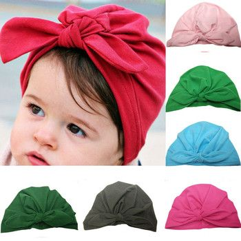 Newborn Baby Toddler Hospital Cap Infant Comfy Bowknot Soft Cotton Beanie Hat Kids Accessories Winter Baby Hats Caps Knit hats