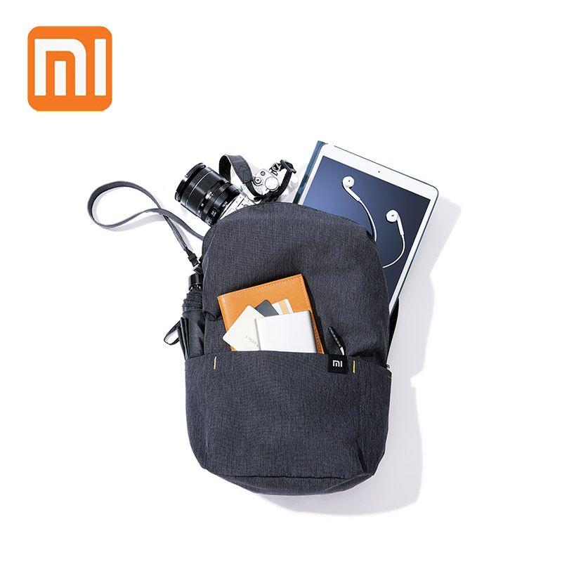 XIAOMI sac à dos 10L Mini sac 8 couleurs pour femmes hommes garçon fille sac à dos imperméable léger Portable poitrine sacs à bandoulière pour voyage
