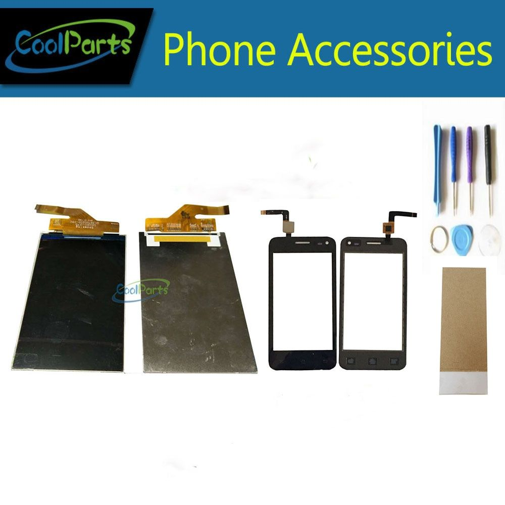 1PC/Lot High Quality For Micromax A79 LCD Display Screen+Touch Screen Digitizer With Tool&<font><b>Tape</b></font> Replacement Part