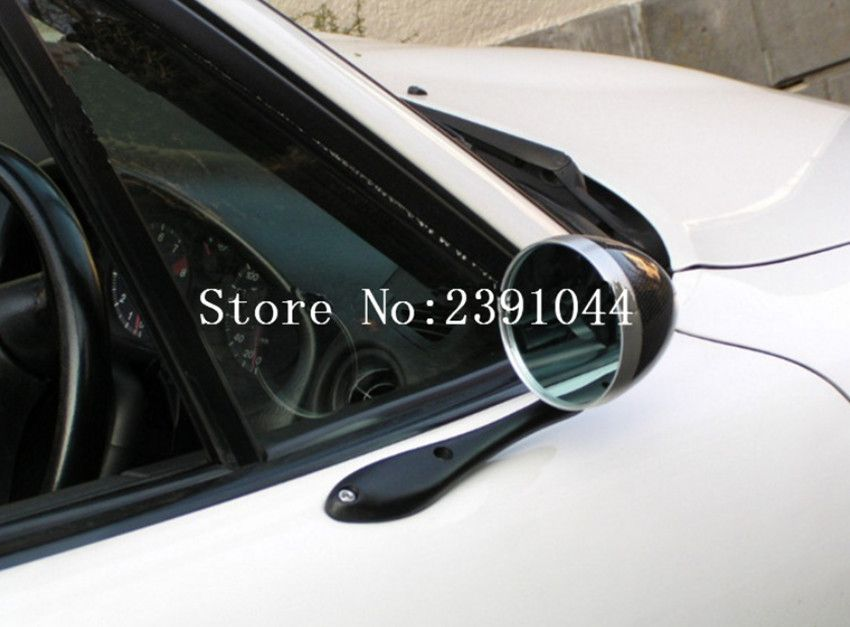 F1 Car Rearview Mirror Racing Side Blue Mirror can be adjustable fit for Audi bmw vw kia nissan ford Nissan Xtrail