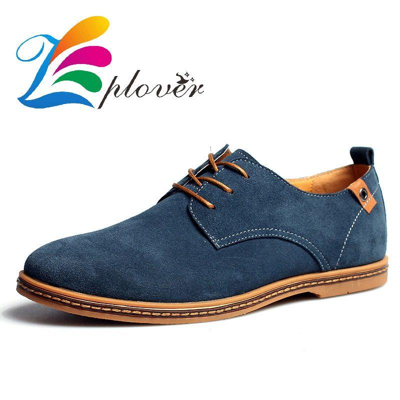 Zplover Sintético de Cuero Genuino 2016 de Los Nuevos Hombres Zapatos Casuales Zapatos de Hombre de Marca Primavera Otoño Invierno Zapatos Oxford Para Los Hombres Pisos zapatos casuales zapatos hombre cuero genuino