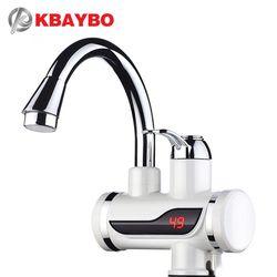 3000 Вт Мгновенный водонагреватель кран Температурный Дисплей электрический водонагреватель Горячая вода Tankless Отопление ванная комната кух...