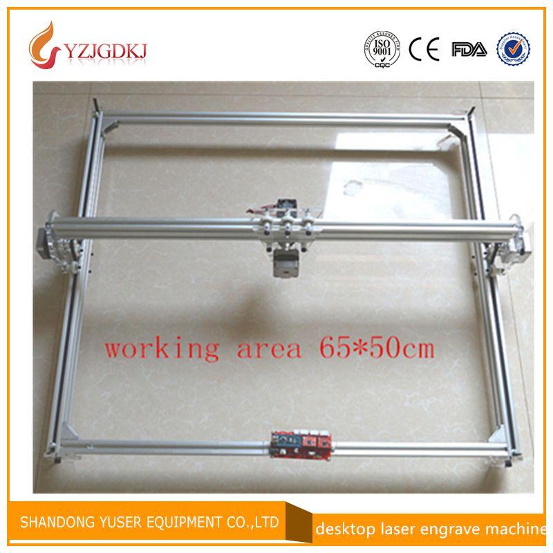 benbox 5500mw laser engraving machine cutting maching laser engraver big working area 65*50cm support laser power adjust