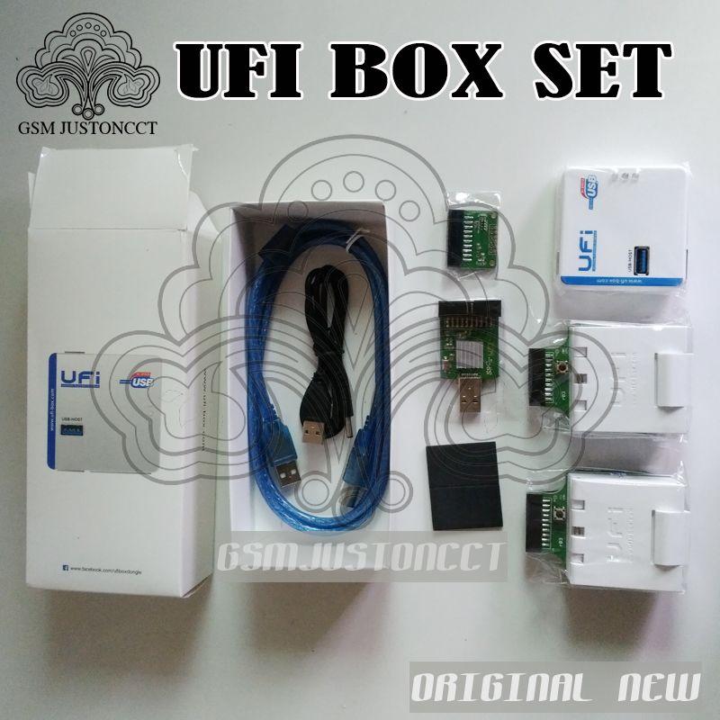 NEW UFi BOX ufibox ufi powerful EMMC Service Tool Read EMMC user data, repair, resize, format, erase, write update firmware EMMC